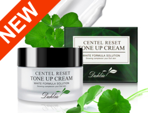 """Beleco own Korean cosmetic product launched  """"Dahlia Centel Reset Tone Up Cream""""."""