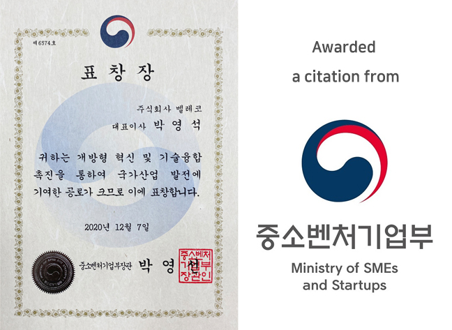 citation from Minister of SMEs and Startups